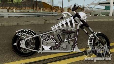 Liberty City Customs Sanctus V2 GTA V para GTA San Andreas