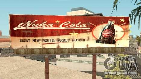Nuka Cola Billboards para GTA San Andreas sexta pantalla