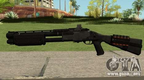 New Shotgun HQ para GTA San Andreas