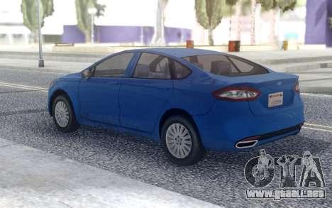 Ford Fusion 2016 Low para GTA San Andreas