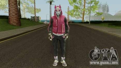 Fortnite Drift Outfit Tier 4 (con Normalmap) para GTA San Andreas