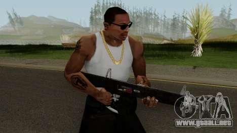 New Combat Shotgun HQ para GTA San Andreas