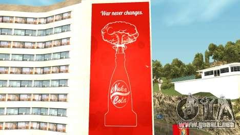 Nuka Cola Billboards para GTA San Andreas tercera pantalla