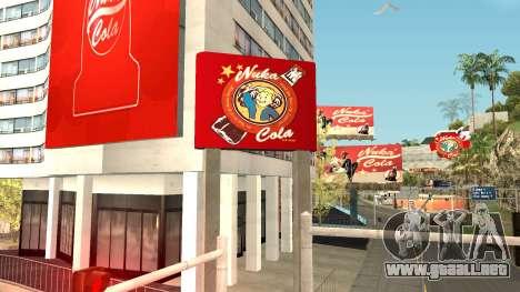 Nuka Cola Billboards para GTA San Andreas segunda pantalla