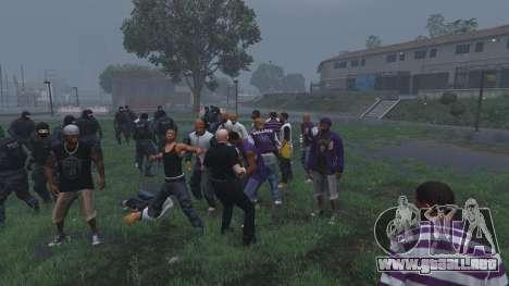 GTA 5 30 SWAT VS 60 Gangsters 1.0 sexta captura de pantalla