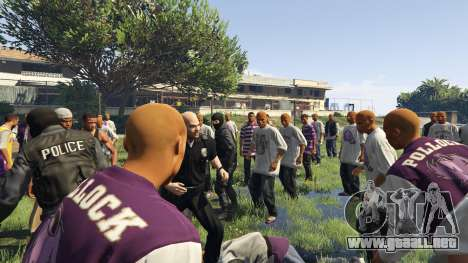 GTA 5 30 SWAT VS 60 Gangsters 1.0 segunda captura de pantalla