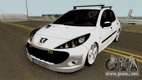Peugeot 206 2012 para GTA San Andreas