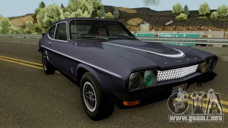 Ford Capri RS 3100 1973 para visión interna GTA San Andreas