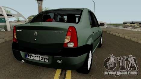 Renault Tondar 90 (Iranian) para GTA San Andreas