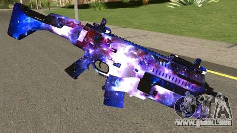 Call of Duty Infinite Warfare: OSA Black Sky para GTA San Andreas segunda pantalla