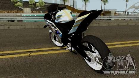 Yamaha R25 Mitsumine Itasha para GTA San Andreas