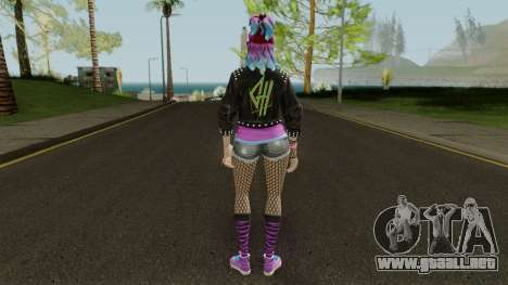 Fortnite Female Garage Band para GTA San Andreas tercera pantalla