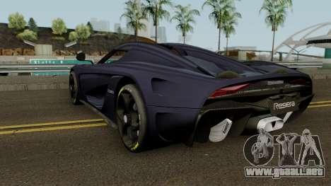 Koenigsegg Regera 2015 para GTA San Andreas