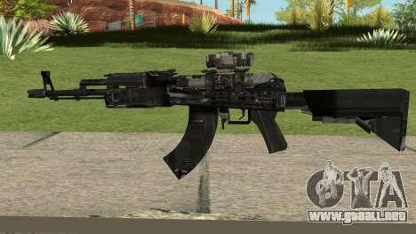 New AK47 HQ para GTA San Andreas