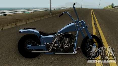 Western Motorcycle Daemon GTA V para GTA San Andreas