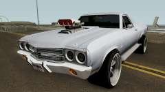 Chevrolet El Camino SS 1970 HQ para GTA San Andreas