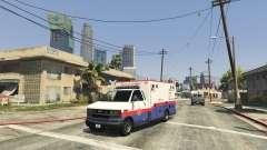 Spawn Emergency Vehicles Menu 0.4 Beta para GTA 5