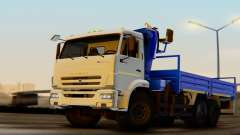 KAMAZ 43118-3049-46 CMU HORMIGA 22-2 LPcars para GTA San Andreas