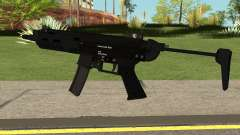 New MP5 HQ para GTA San Andreas