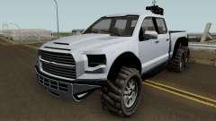 Vapid Caracara GTA V para GTA San Andreas
