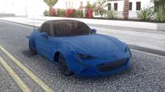 Mazda MX-5 2016 Super Coupe para GTA San Andreas