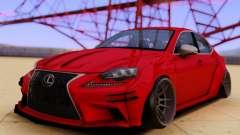 Lexus IS350 para GTA San Andreas