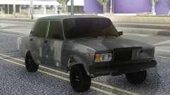 VAZ 2107 Hobo Gris para GTA San Andreas