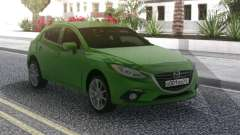 Mazda 3 Green para GTA San Andreas