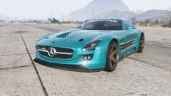 Mercedes-Benz SLS 63 AMG GT3 (C197) 2012 para GTA 5