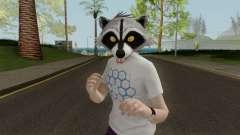 GTA Online Racoon Hipster para GTA San Andreas