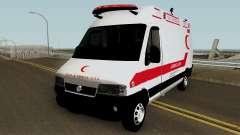 Fiat Ducato 2005 Turkish Ambulance para GTA San Andreas