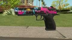 Neon Destroyer Deagle para GTA San Andreas