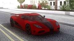 Koenigsegg Agera R Red para GTA San Andreas