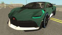 Bugatti Divo 2019 High Quality para GTA San Andreas