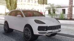 Porsche Cayenne Turbo White para GTA San Andreas