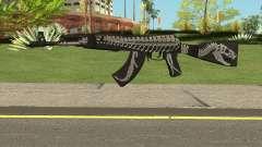 Battle Carnival AKM SKIN 2 para GTA San Andreas