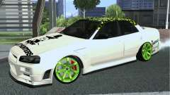 Nissan Skyline ER34 Custom para GTA San Andreas