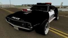 AMC Javelin AMX 401 Police LVPD 1971 V2 para GTA San Andreas