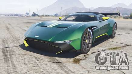 Aston Martin Vulcan 2015 [add-on] v1.1 para GTA 5