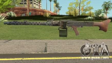 MG-34 Bad Company 2 Vietnam para GTA San Andreas