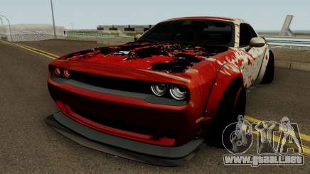 Dodge Hellcat Blood para GTA San Andreas