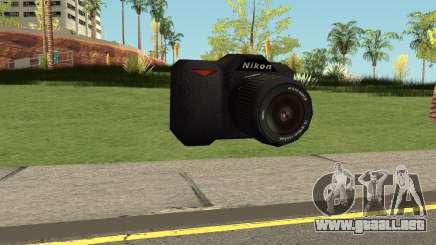 New Camera Nikon HQ para GTA San Andreas