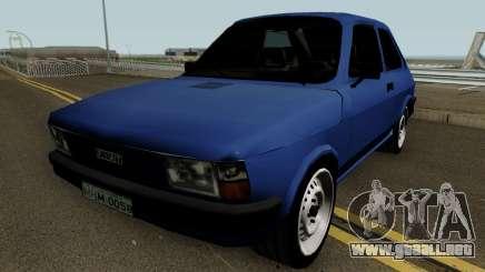 Fiat 147 Tunable para GTA San Andreas