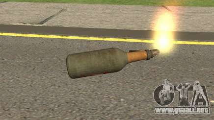 New Molotov Cocktail HQ para GTA San Andreas