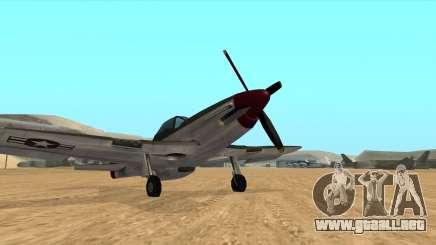 Rustler - P51 Mustang para GTA San Andreas