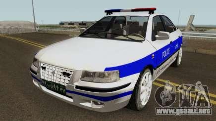IKCO Samand Police LX v3 para GTA San Andreas
