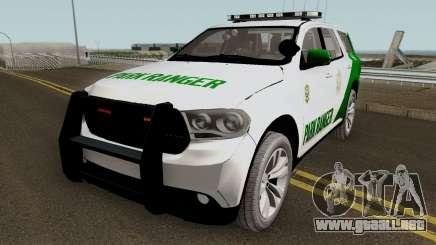 Dodge Durango San Andreas Park Ranger 2011 para GTA San Andreas