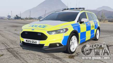 Ford Mondeo Estate 2014 Police Dog Section para GTA 5