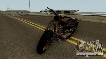 Western Motorcycle Rat Bike GTA V para GTA San Andreas