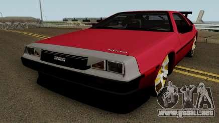 DMC DeLorean 12 Tuning V.1 para GTA San Andreas